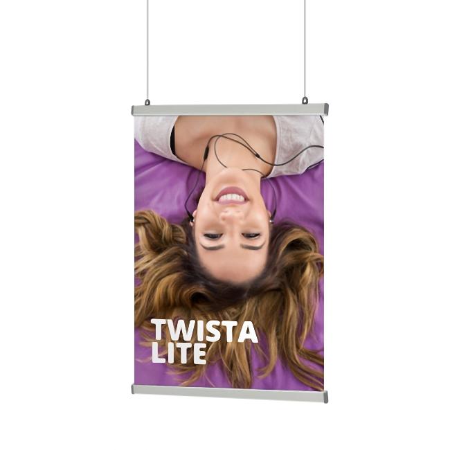 Affischhängare Twista Lite Poster Rail