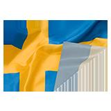 Flaggor, tygvepor och tryck på tyg